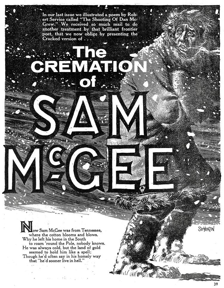 The Cremation Of Sam McGee | The Belated Nerd